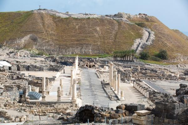 Beit Shean Site-Israel