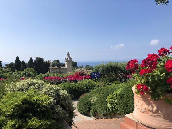 Augustus Gardens in Capri, Italy