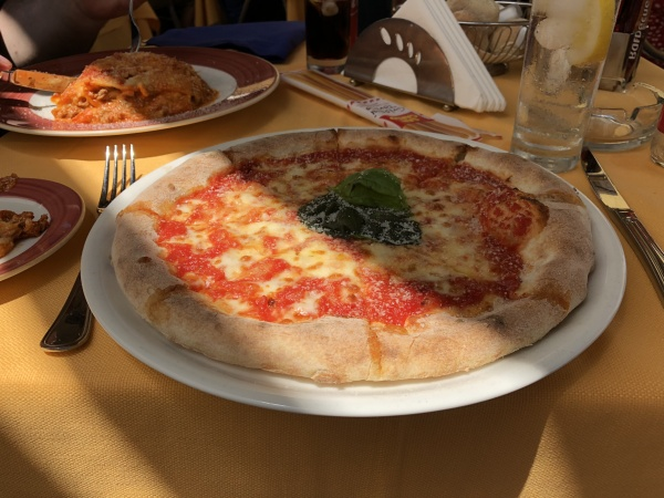 Pizza in Sorrento, Italy