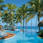 An outdoor spa in Punta Cana.